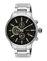 Timex E Class Analog Black Dial Men's Watch - TW000Y402