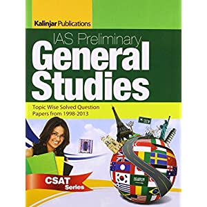 IAS Preliminary General Studies: Topic Wise Solved Question Papers from 1998 - 2015 (CSAT)