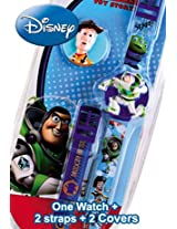 Disney Digital Blue Dial Children's Watch - 6500034