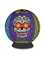 BePuzzled 3D Sphere - Day of The Dead Puzzle