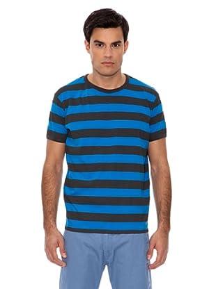 Springfield Camiseta Rayas (Marino / Azulón)