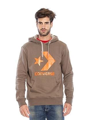 Converse Sudadera S Kean (Marrón)