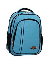 Next Age Nylon Turqouise Blue School Backpack