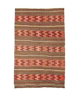 Design Community By Loomier Teppich Kilim Caucasico koralle/mehrfarbig 144 x 230 cm