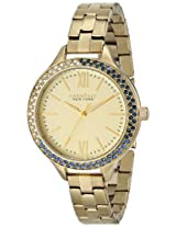 Caravelle by Bulova Dress Analog Champagne Dial Women's Watch - 44L154