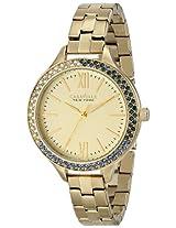 Caravelle by Bulova Dress Analog Champagne Dial Women's Watch - 44L154