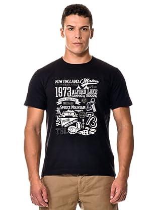 Timberland Camiseta M/M (Negro)