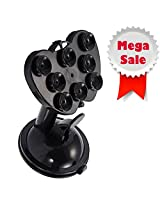 HOLI JOY 360 Degree Rotatable joy Universal Car Tablet Holder Cradle for Smart Phones Mobile Phones/GPS/Pad Placing Plate-Black