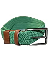 Perry Ellis Portfolio Full Grain Cowhide Green Belt (34/85)