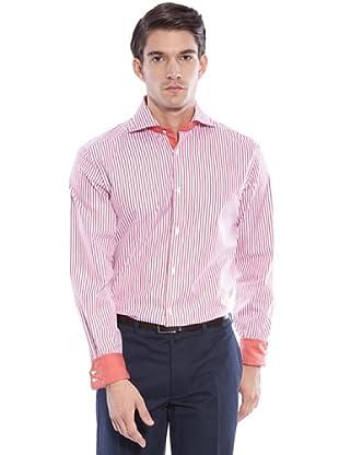 Hackett Camicia Righe (Arancio/Bianco)