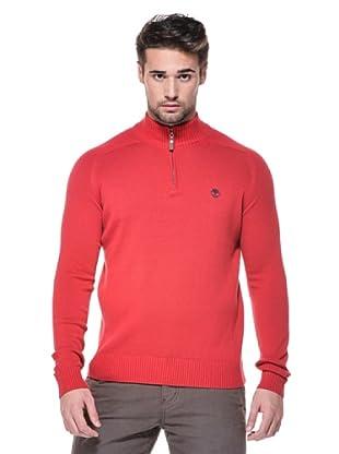 Timberland Jersey Cuello alto (Rojo)