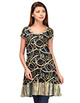 MOTIF Women's Dress (A214XL_Multi-Coloured_X-Large)