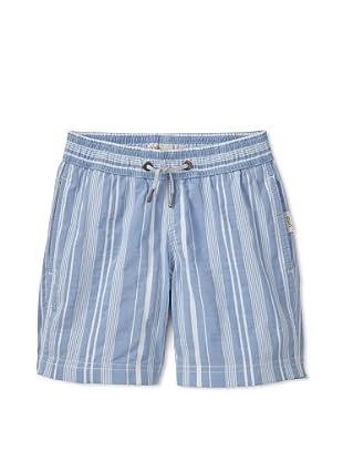 Onia Boy's Charlie Trunks (Blue Stripe)
