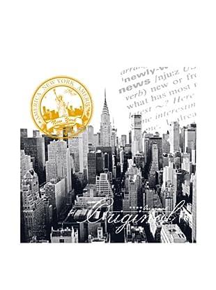 PlatinArt Cuadro Manhattan Panorama 80 x 80