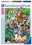 Tiger Family Jigsaw Puzzle, 1000-Piece