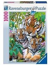 Ravensburger Tiger Family, Multi Color (1000 Pieces)