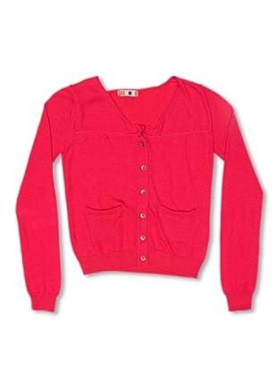 CKS Kids GIRLS Chaqueta Cassiterite (Rojo)