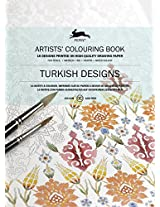 Turkish Designs: Artists' Colouring Book (Pepin Artist Colouring Book)