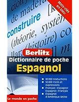 Dictionnaire De Poche Espagnol (Francai-espagnol Esp-fr)( Berlitz)