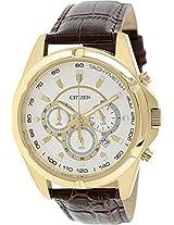 Citizen Analog White Dial Men's Watch - AN8043-05A