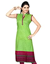 Pakistani Printed Long Kurtis (Size : Large)