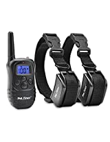 Petrainer 330 Yards Remote 4 In 1 Lcd E-Collar Pet Dog Training Shock Electric Collar