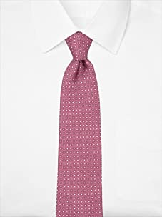 Nina Ricci Men's Floral Dot Tie, Purple