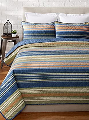 Eddie Bauer Yakima Valley Stripe Quilt/Sham Set
