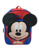 "Disney Mickey Mouse Club-house 3D 16"" School Backpack"