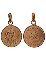 Rahu Pendant with His Yantra on the Reverse - Navagraha (The Nine Planet Series) - Copper
