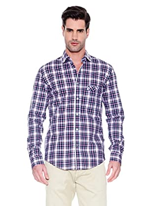 Hugo Boss Camisa Night (Marino / Blanco / Rosa)