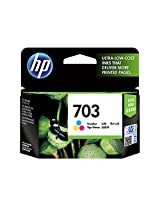 HP Deskjet 703 Ink Cartridge - Tri Color
