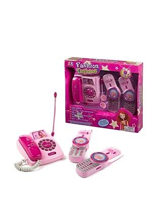 Kidzcorner Set de 3 walkie talkies
