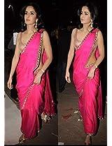 Katrina's BollyWood Replica Pink Saree