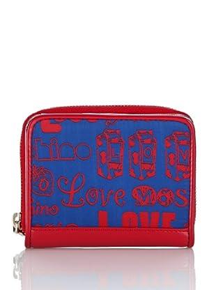 Love Moschino Portafoglio (Blu/Rosso)