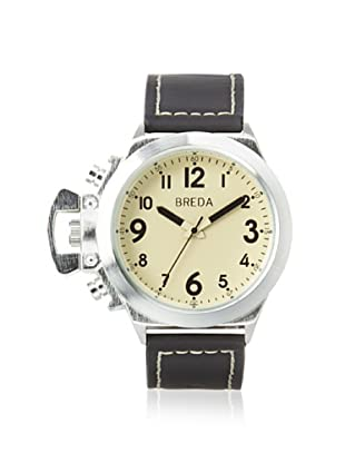 Breda Men's 8170 James Black/Cream Alloy Watch