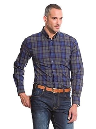 Pedro del Hierro Camisa Non Iron Sport (Azul)