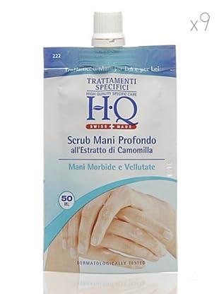 HQ Kit De 9 Productos Exfoliante Manos Profundo 50 ml cad.