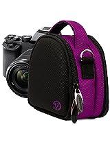 Vangoddy Nylon Purple Camera Pouch