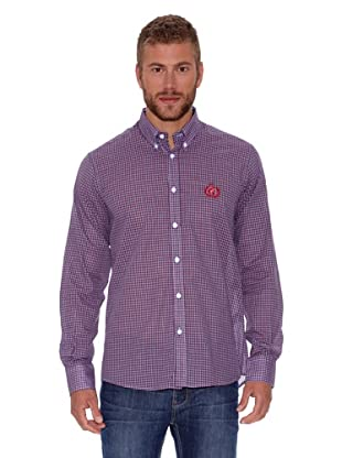 Polo Club Camisa Fitted (Rojo)