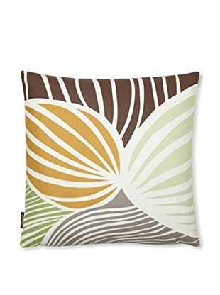Inhabit Leaf Pillow (Grass and Butterscotch)