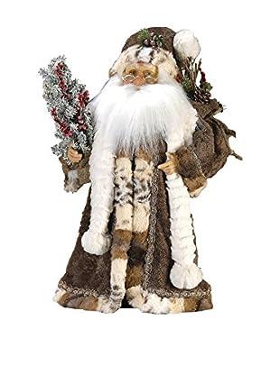 Kurt Adler Jacqueline Kent Woodland Standing Santa