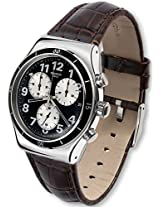 Swatch Browned YVS400 Black Analogue Watch - For Men