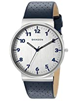Skagen Ancher Analog Silver Dial Men's Watch - SKW6162