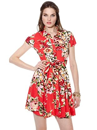 Guess Vestido (Rojo)