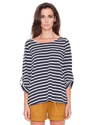 Women secret Camiseta Mc Repris Nautic (Azul Marino)