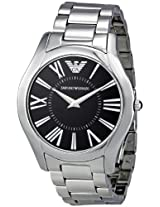 Emporio Armani Slim Analog Black Dial Men's Watch AR2022