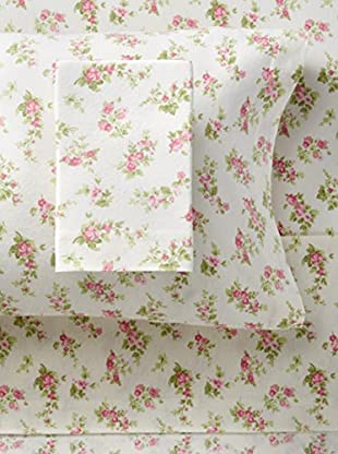 Laura Ashley Audrey Flannel Sheet Set