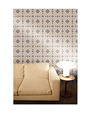 Tempaper Designs Diamond Self-Adhesive Temporary Wallpaper, Taupe, 20.5