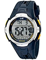 Timex Men's T5K6819J 1440 Sport Full-Size Navy Blue Resin Digital Watch